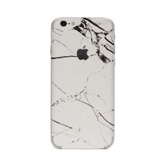 Hyper Marble iPhone Skin - White by #UNIQFIND | #hyperiphone
