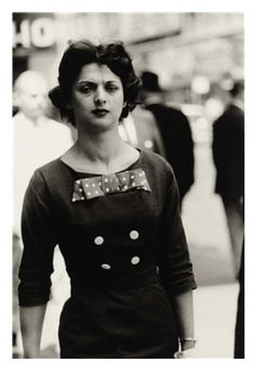 Diane Arbus Photography Woman In A Bow Dress, New York City, 1956