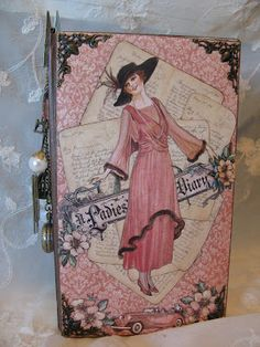 annes papercreations: Graphic 45 A Ladies Diary year book journal / mini album - tutorial