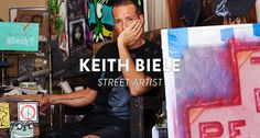 KEITH BEILE - STREET ARTIST