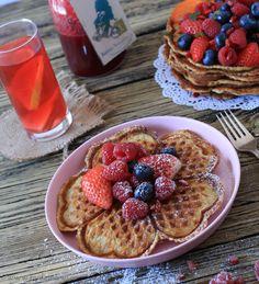 Vafler uden mel og sukker, og med havtorn, www.bydianawi.com