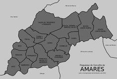 Freguesias do concelho de Amares.