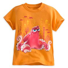 finding dory t shirts | Hank Tee for Kids - Finding Dory | Tees, Tops & Shirts | Disney Store
