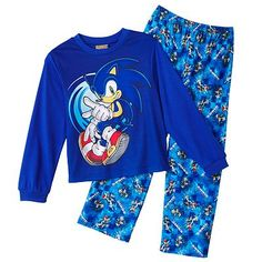 Voici un pyjamas de Sonic!