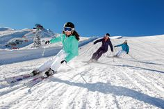 Skifahren in Flachau im Zentrum von Ski amadé  skiing in Flachau in the center of Ski amadé
