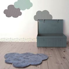 mommo design: IN THE CLOUDS....rug