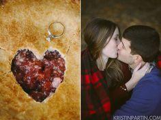 engagement photos - pie love