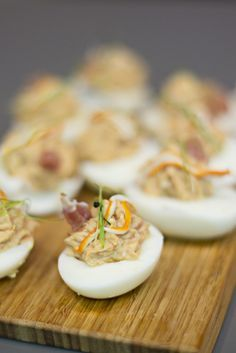 How To Cook Devilled Eggs Canapes - Cooking Recipes Party Dip Recipes, Egg Recipes, Kitchen Recipes, Appetizer Recipes, Cooking Recipes, Healthy Recipes, How To Cook Eggs, Snacks, Deviled Eggs