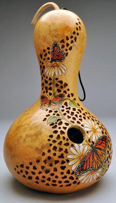 Gourd Art y Christy Barajas