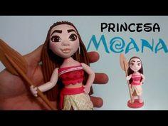 PRINCESA MOANA INSPIRADA BISCUIT (TUTORIAL) - YouTube
