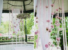flower wedding backdrop