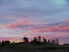 """Natural cloudscape photo taken in Billings, MT. I call this """"Mystical Morning"""""""