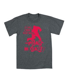 Look at this #zulilyfind! Heather Charcoal 'Play Hockey' Tee - Men by Airwaves #zulilyfinds