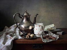 35PHOTO - Elena Tatulyan - com um chá