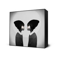A Reflection by Ruben Ireland  Framed prints from $35 at EyesOnWalls.com #art  http://www.eyesonwalls.com/collections/ruben-ireland/products/a-reflectionax