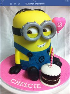 Despicable me mini cakes