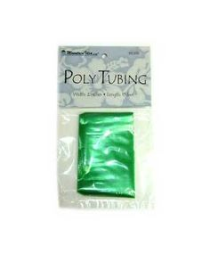 "Poly Tubing - Green 2"""