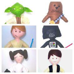 Star wars feito por julia doya