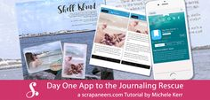 Behind every great picture, there is a great story which is why I'm sharing how to use the Day One journaling app -- I love cutting down on mental clutter!
