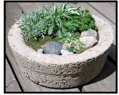 Forms for Hypertufa & Concrete Projects | Hypertufa Form Ideas http://www.artistic-garden.com/forms-for-hypertufa/
