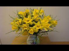 DIY Blumenstrauß mit Osterglocken selber binden | flora-shop.eu