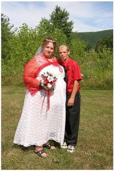Ugly Wedding Dresses Ever Redneck Weddings Weird Dress