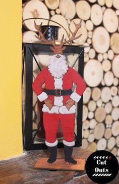 Deer Santa....wait it was supposed to be Dear Santa.....too late Deer Santa it is