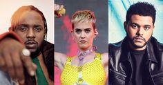 Kendrick Lamar, Katy Perry e The Weeknd são destaques na VMA 2017 - veja a lista