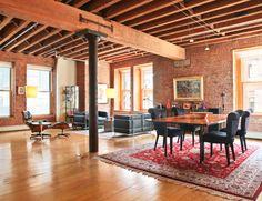Dit is de nieuwe loft van Orlando Bloom. Wij zouden graag e.e.a. aanpassen Roomed   roomed.nl