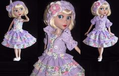 """SUNDRESS,SWEATER &SHOES SET MADE FOR TONNER/WILDE IMAGINATION PATIENCE 14"""" DOLLS"""