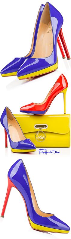 #Christian Louboutin 'Pigalle Plato' ♔THD♔