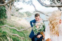 how sweet is this emotional groom!