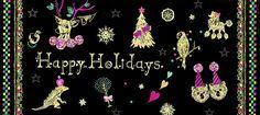 #広告 #花 #flower #デザイン #お洒落 #可愛い  #illustration #kanakobayashi #art #illust #パッケージ #pattern #柄 #模様 #クリスマス #黒  #fashion #線画 #line #コラージュ #collage