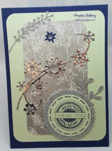Christmas Thank You Cards – Christine's Crafting by Christine Bettany