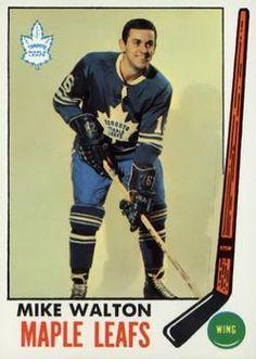 1969-70 Topps #50 Mike Walton Front Stars Hockey, Ice Hockey, Hockey Cards, Baseball Cards, Maple Leafs Hockey, Toronto Maple Leafs, Hockey Players, Nhl, 1930s