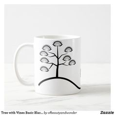 Sip from one of our many Tree coffee mugs, travel mugs and tea cups offered on Zazzle. Personalized Products, Simple Designs, Photo Mugs, Create Your Own, Cups, Monogram, Ceramics, Make It Yourself, Elegant