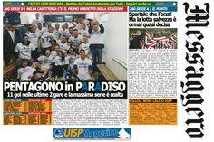 UISP IN EDICOLA | Giovedì 12 Aprile la Mezza Pagina UISP n°37