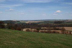 Pohled směrem na Horní a Dolní Kruty, Benátky a Újezdec - typical of area near Melnik
