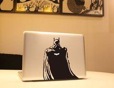 macbook decal Batman macbook decal retina decal cover Laptop macbook decal Vinyl sticker macbook pro decal  mac decals skin stickers
