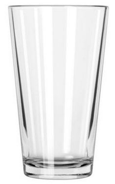 Libbey 1639HT 16 oz Pint Beer Restaurant Mixing Basic Glass Tumblers Lot of 24 #Libbey