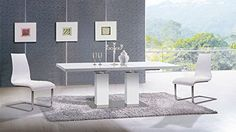 White Dining Table *** Check out the image by visiting the link-affiliate link. #DiningTables