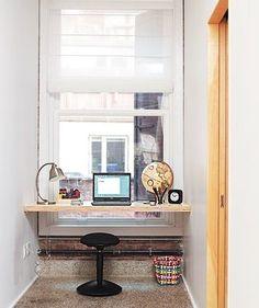 Minimalist Home Office: Great idea!