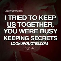 Keeping secrets,
