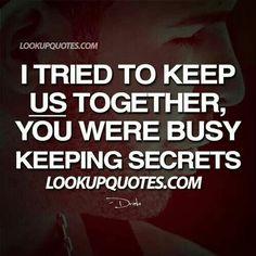 Keeping secrets,