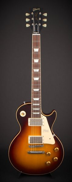 2017 Gibson Custom Historic 1958 Les Paul Standard Reissue - VOS - Faded Tobacco