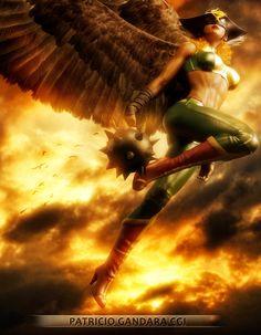 Hawk Girl by Patricio Gandara