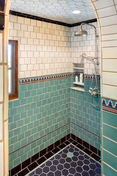 Modern Home Decor .Modern Home Decor Art Deco Bathroom, Bathroom Tile Designs, Bathroom Interior, Casa Retro, Vintage Bathrooms, The Design Files, Beautiful Bathrooms, Bathroom Inspiration, Cheap Home Decor