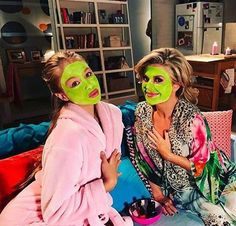 Olivia Deeble aka (Raffy Morrison) and Emily Symons aka (Marilyn Chambers) Home And Away Cast, Beyonce, Funny Pictures, Instagram Posts, Films, Bts, Wedding Dresses, Happy, Summer