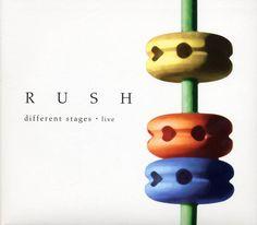 Rush: Different Stages - Album Artwork