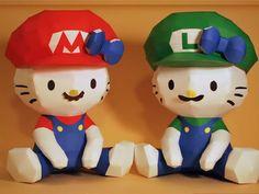 Hello Kitty Mario & Luigi